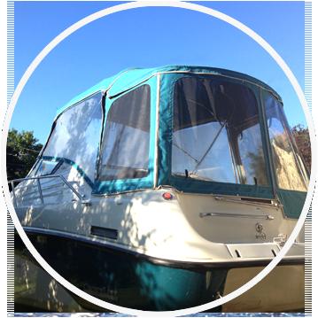 Toiles de bateau sur mesure max nautique for Housse pour chaloupe